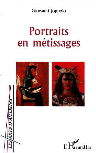 Couverture Portraits en métissage