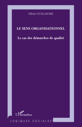 Couverture Le sens organisationnel
