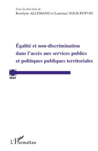 Couverture Egalité et non-discrimination dans l'accès aux services publ