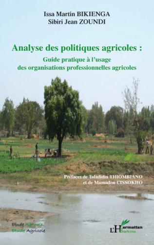 Couverture Analyse des politiques agricoles