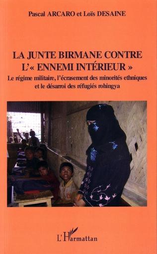 Couverture La junte birmane contre
