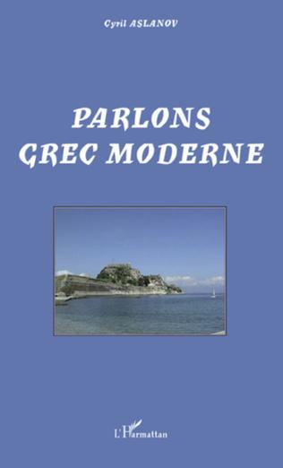 Couverture Parlons grec moderne