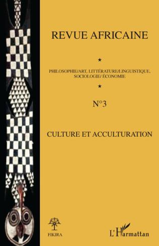 Couverture Culture et acculturation