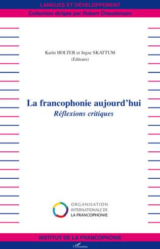 Couverture La francophonie aujourd'hui