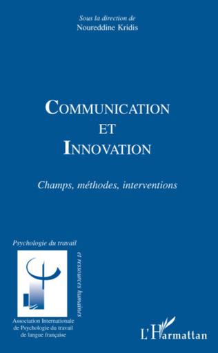 Couverture COMMUNICATION ET INNOVATION
