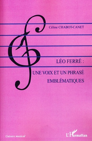 Couverture Léo Ferré : une voix et un phrasé emblématiques