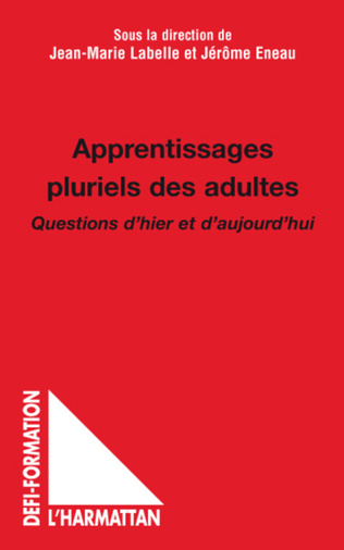 Couverture Apprentissages pluriels des adultes