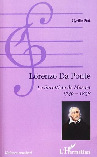 Couverture Lorenzo Da Ponte