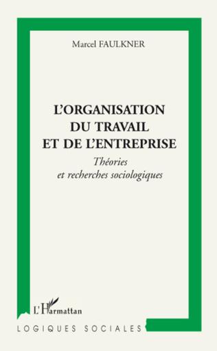 Couverture L'organisation du travail et de l'entreprise