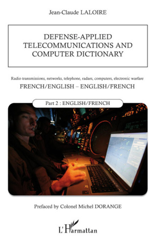 Couverture Defense-applied telecommunications and computer dictionary