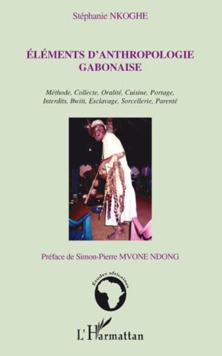 Couverture Eléments d'anthropologie gabonaise