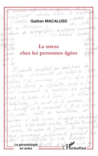 Couverture LE STRESS CHEZ LES PERSONNES AGÉES