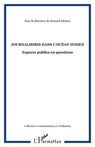 Couverture Journalismes dans l'océan indien