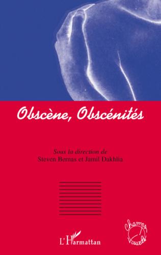 Couverture Obscène, obscénités