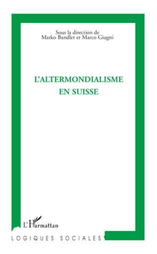 Couverture L'altermondialisme en Suisse