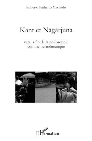 Couverture Kant et Nagarjuna