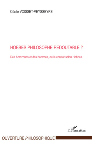 Couverture Hobbes philosophe redoutable?