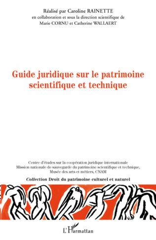 Couverture Guide juridique sur le patrimoine scientifique et technique
