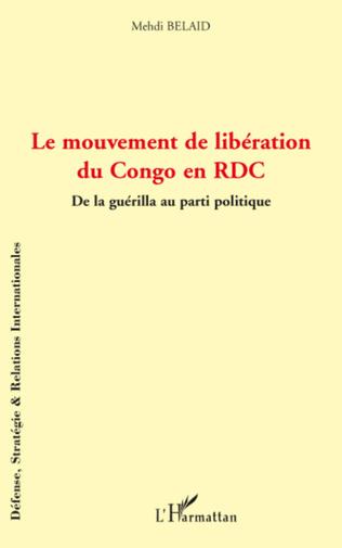 Couverture Le mouvement de libération du Congo en RDC