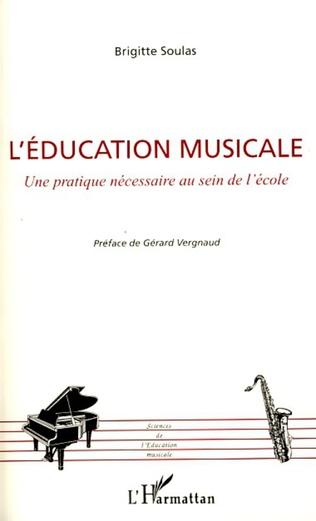 Couverture L'éducation musicale