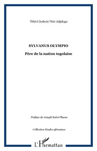 Couverture Sylvanus Olympio