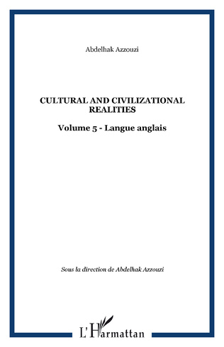 Couverture CULTURAL AND CIVILIZATIONAL REALITIES
