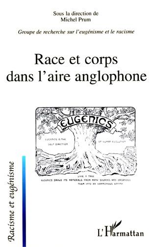 Couverture Race et corps dans l'aire anglophone