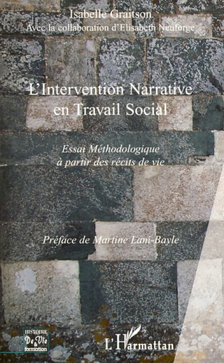 Couverture L'intervention narrative en travail social