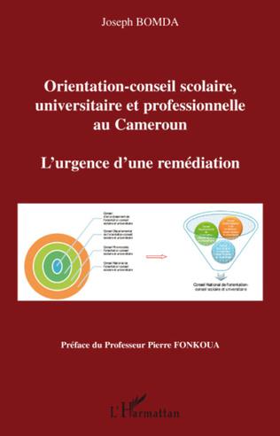 Couverture Orientation-conseil scolaire, universitaire et professionnelle au Cameroun