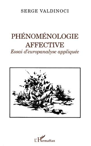 Couverture Phénoménologie affective