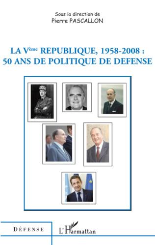 Couverture La Vème République 1958-2008