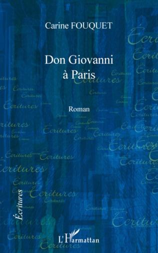Couverture Don Giovanni à Paris
