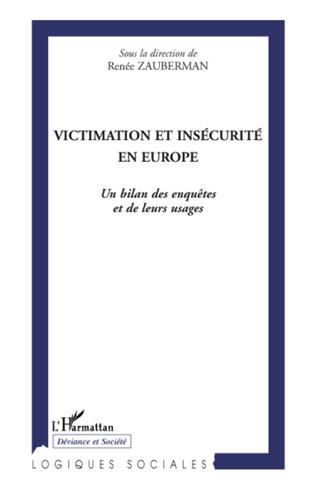 Couverture Victimation et insécurité en Europe