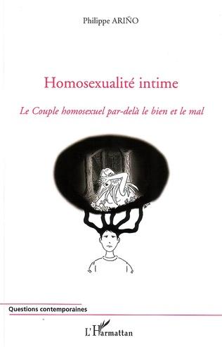 Couverture Homosexualité intime