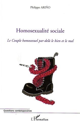 Couverture Homosexualité sociale