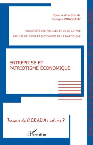 Couverture Entreprise et patriotisme économique