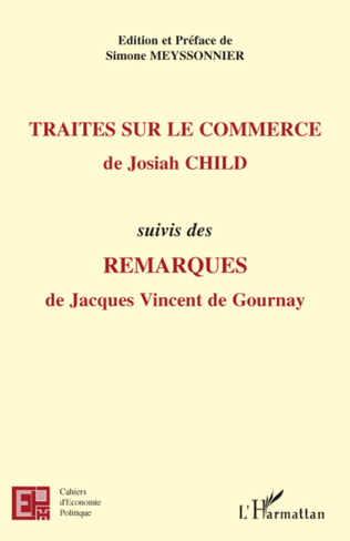 Couverture Traités sur le commerce, de Josiah Child