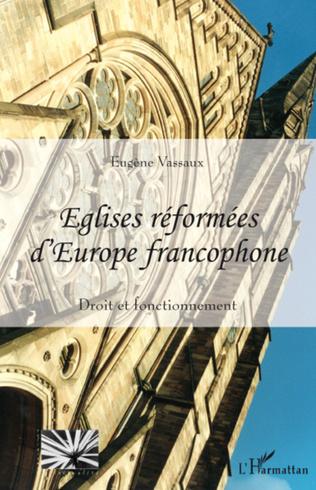 Couverture Eglises réformées d'Europe francophone