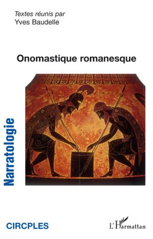 Couverture Onomastique romanesque