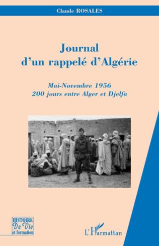 Couverture Journal d'un rappelé d'Algérie