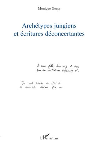 Couverture Archétypes jungiens et écritures déconcertantes