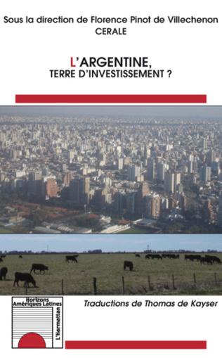 Couverture L'Argentine Terre d'Investissement?