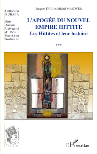 Couverture Apogée du Nouvel Empire Hittite
