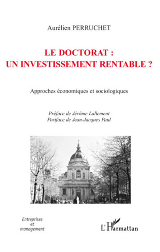 Couverture Le doctorat : un investissement rentable ?