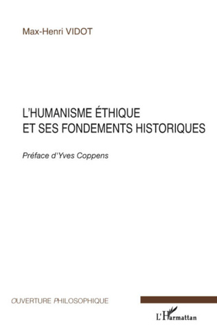 Couverture L'humanisme éthique et ses fondements historiques