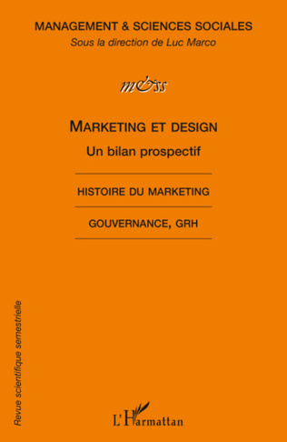 Couverture Marketing et design, un bilan prospectif