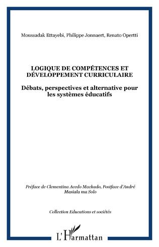 Couverture Logique de compétences et développement curriculaire