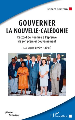 Couverture Gouverner la Nouvelle-Calédonie