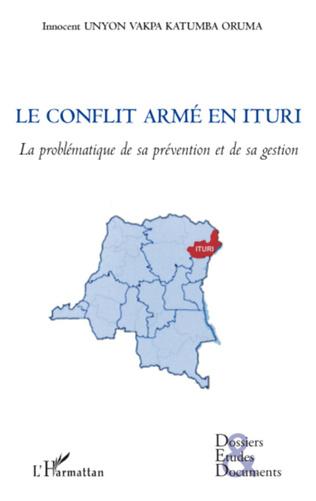 Couverture Le conflit armé en Ituri (RDC)