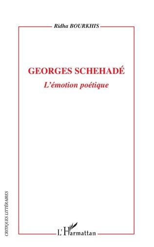 Couverture Georges Schehadé